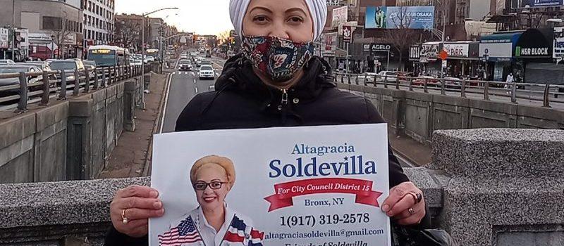 Altagracia Soldevilla busca elección concejala