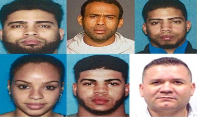 Dominicanos presos por asuntos de drogas