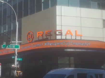 Sala de cine que abrirá. Foto Andrés Correa