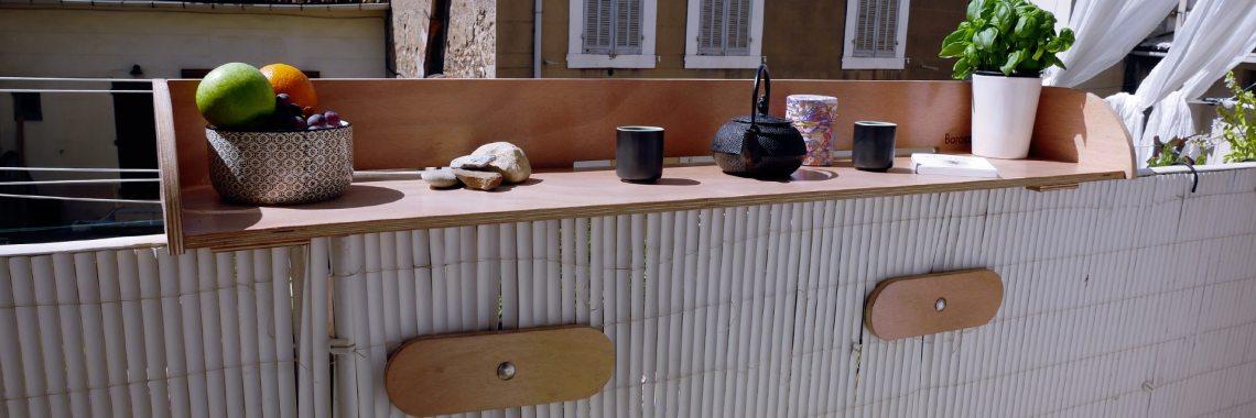 table bar pour balcon et terrasse