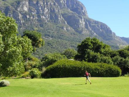 Training run in South Africa