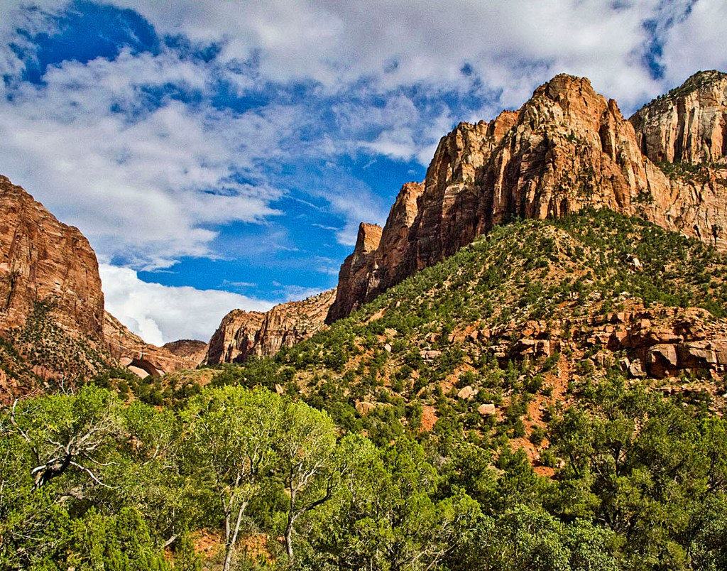 The Other Half to be paired with Half the Mountain at Zion National Park in scenic Utah