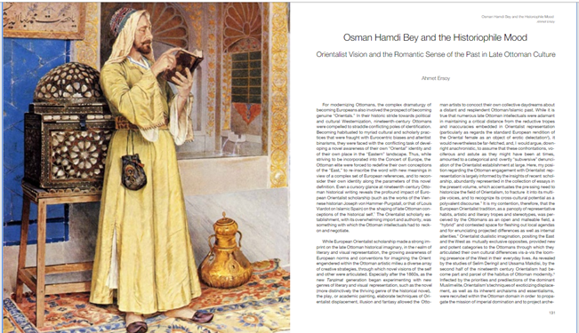 Osman Hamdi Bey and the Historiophile Mood