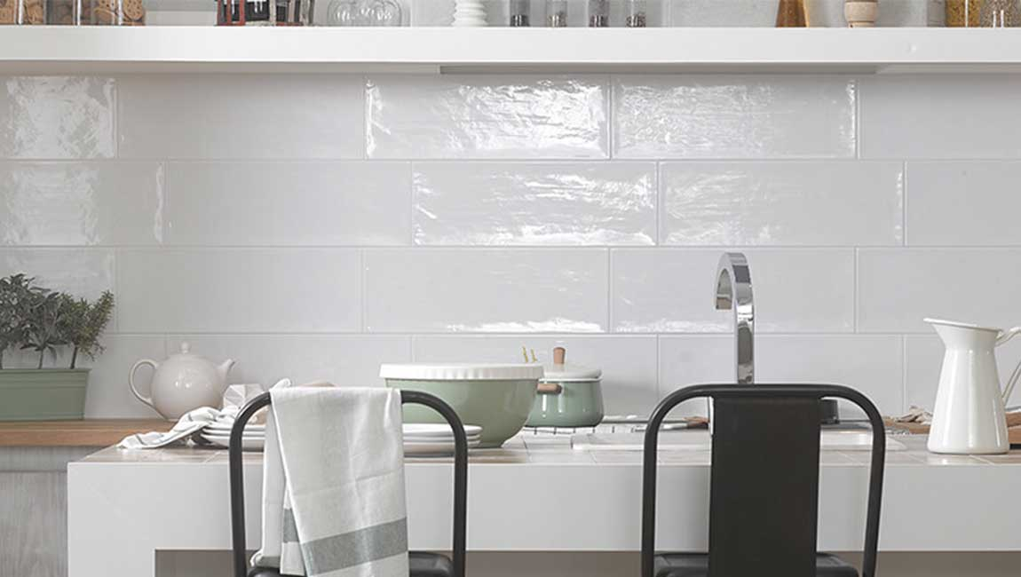 how to determining subway tile