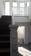 barandilla madera interior blanca