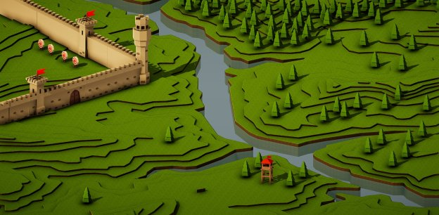 mapbox unity sdk terraced terrain game shot