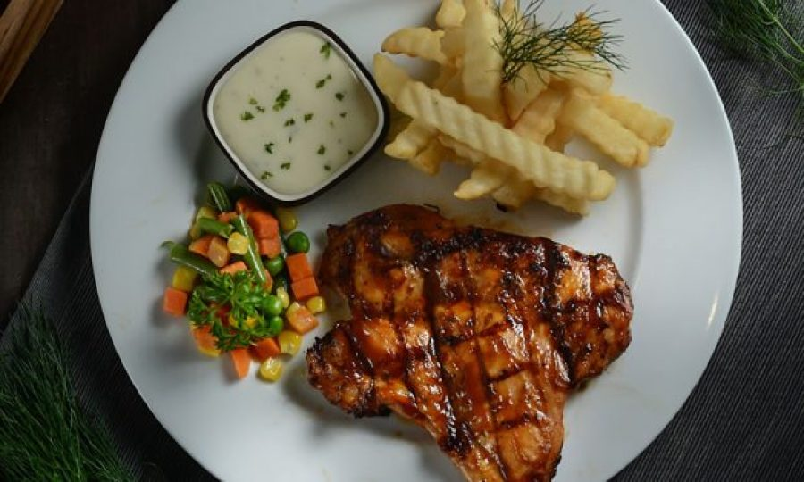 Grilled Chicken Steak 180gr – 34K