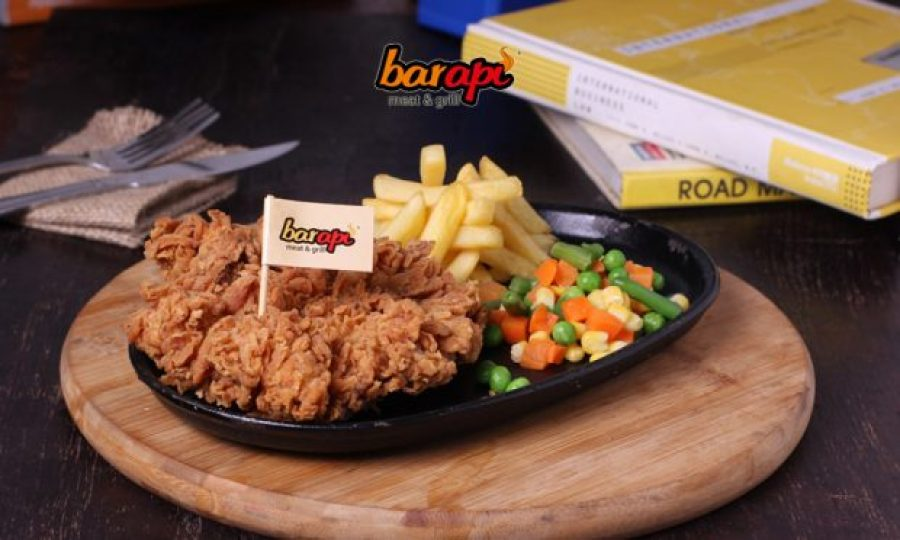 Crispy Chicken Hotplate Steak – 25K