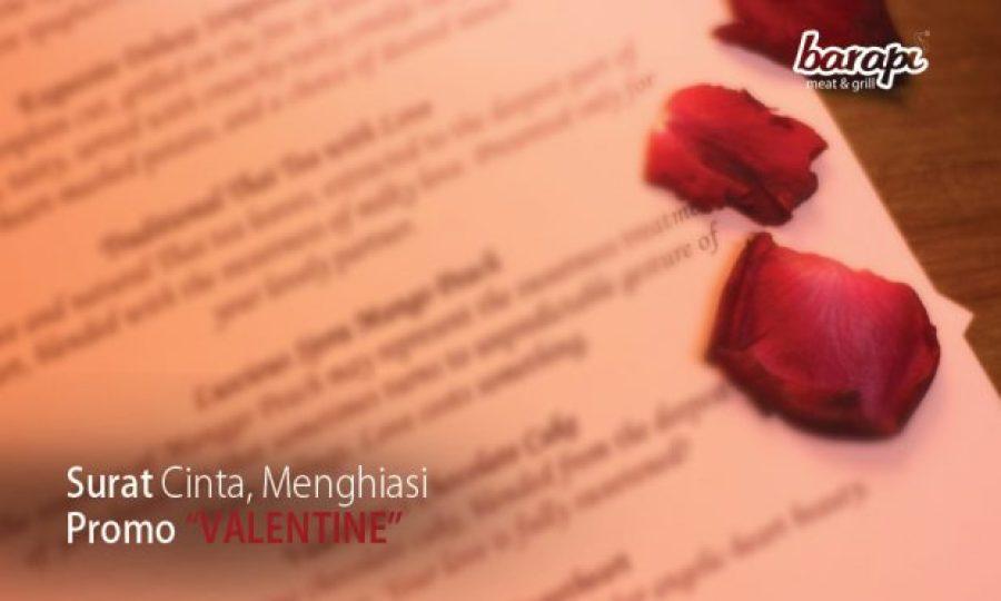 Surat Cinta Menghiasi Promo Valentine