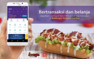Pembayaran Digital di Barburger by Barapi