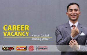 JOB VACANCY: Human Capital Training Officer