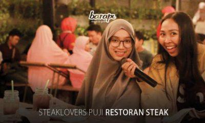 steaklovers bangga makan steak barapi jakarta