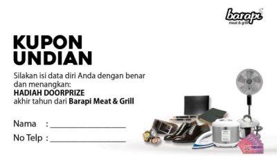 undian akhir tahun di restoran steak premium terdekat dengan Anda