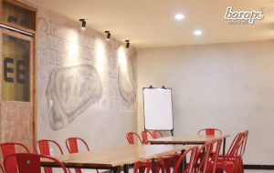 Coworking Space di Restoran Steak