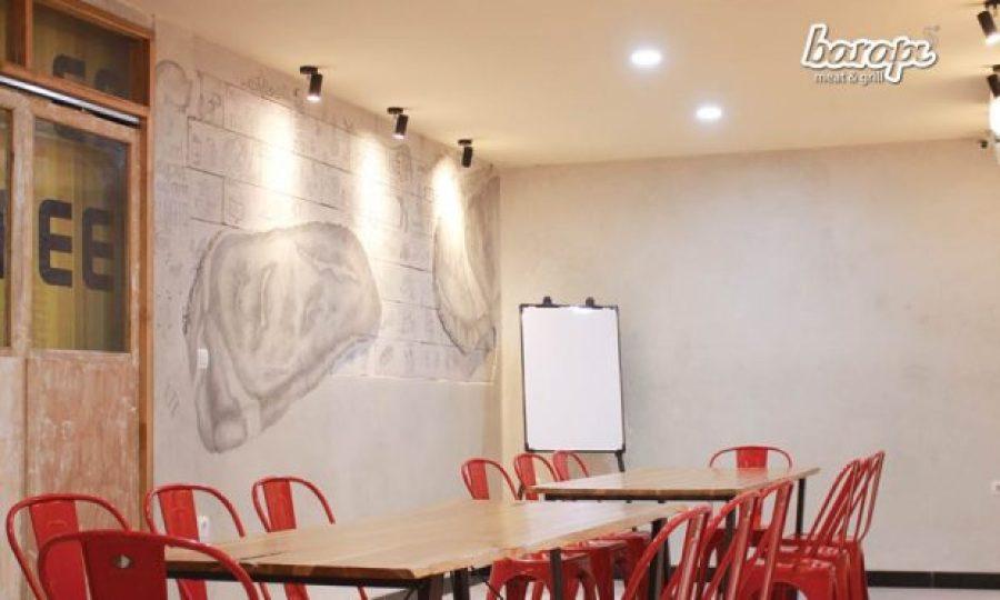 Coworking Space di Restoran Steak