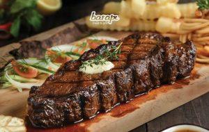 Steak Termahal di Dunia Versus Steak Barapi Meat and Grill