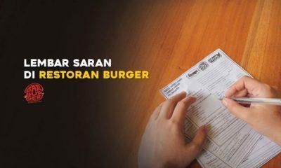 saran pelanggan restoran burger jakarta