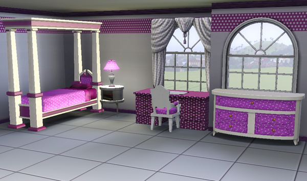 hello kitty potty chair swing over canyon sims3 baraquesasims - les chambres enfants