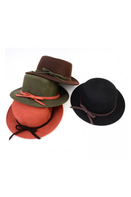color fedora hat