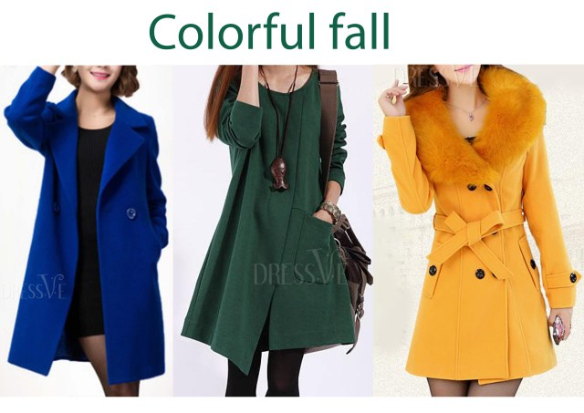 cheap colorful coats