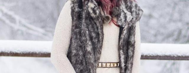 snow eskimo fashion fur