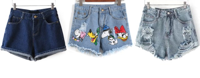 hot pants jeans summer