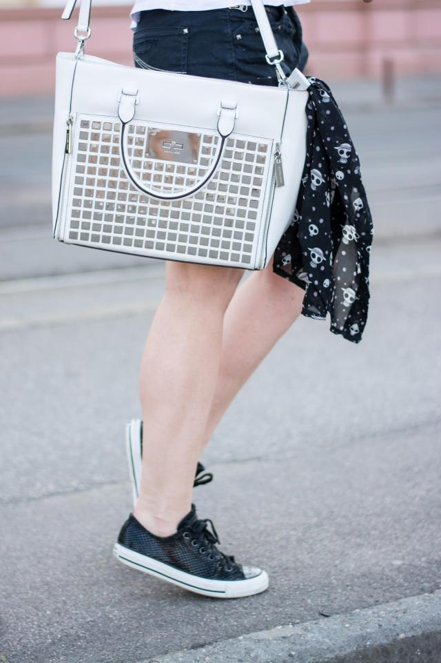Michael Kors white bag