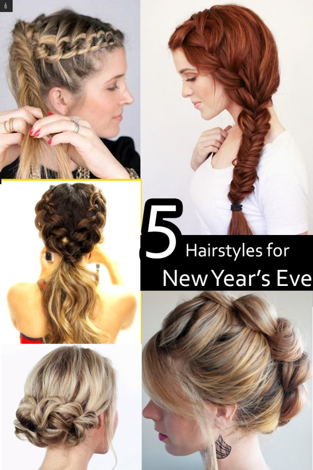 hairstyles for new year's eve