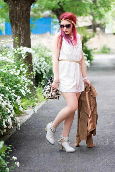 Shoes With White dress