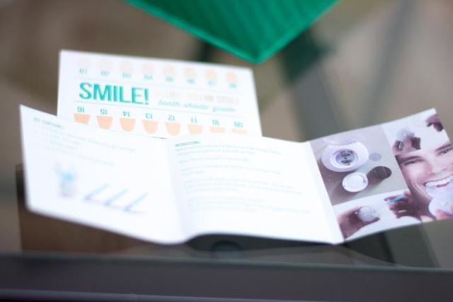 whitening teeth instructions