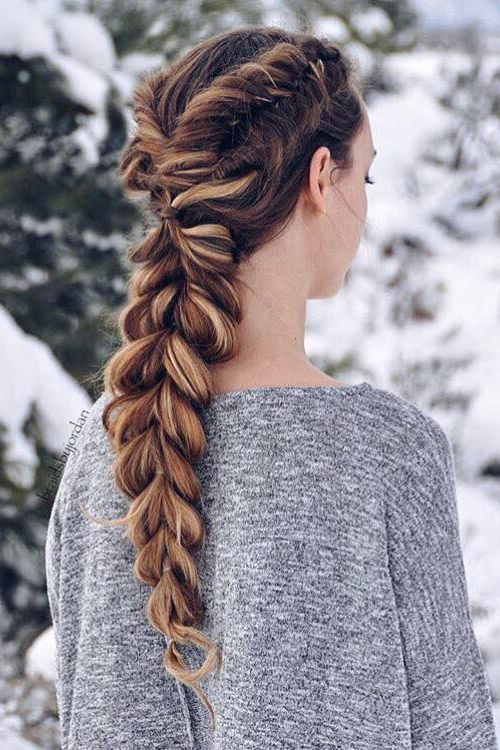 long hair double dutch braid