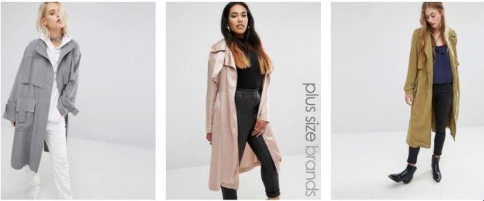 beige trench coats