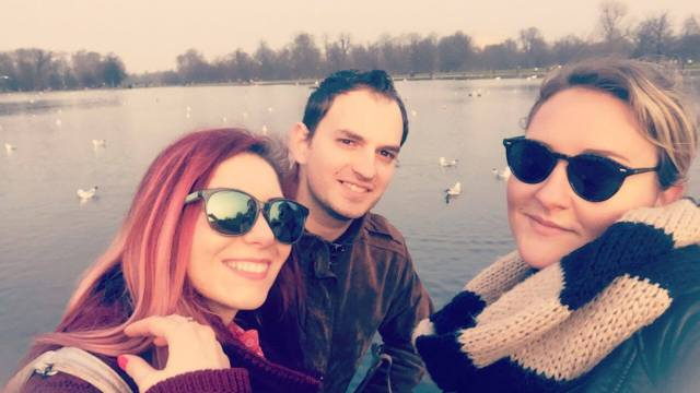 London trip with friends