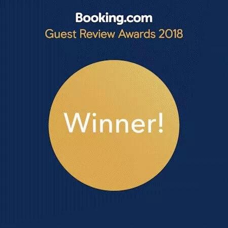 Booking.com elismerés