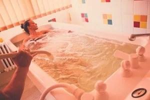 Gyógyászat szénsavas fürdő