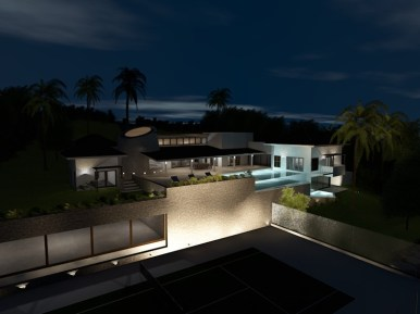 Peter Harris House Picture # 6-Night