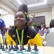 Jamaican wins first Margaret Prince Memorial Female Tournament