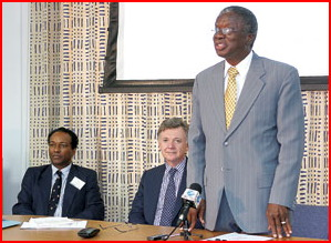 Barbados Attorney General Stuart Gives A Speech To The Corrupt Director Of Public Prosecutions Charles Leacock