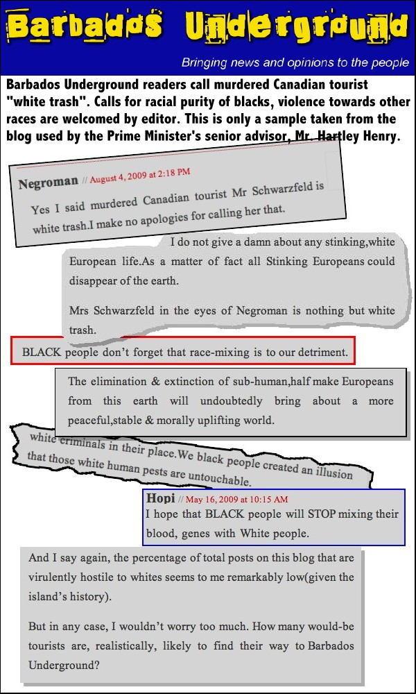 Barbados Racism A1