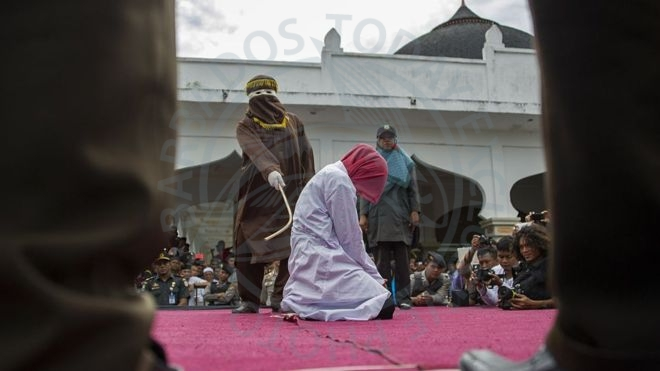 Women caned in Malaysia