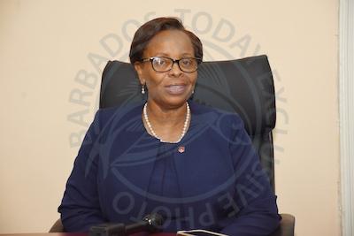 Principal of Harrison College Juanita Wade.