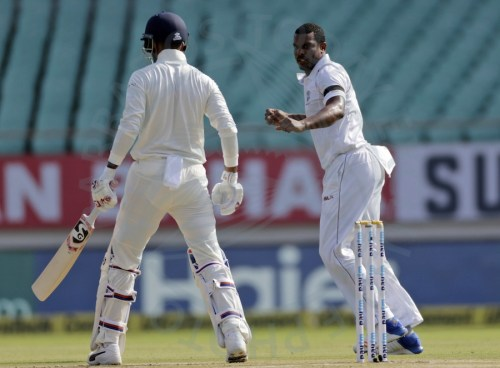 Shannon Gabriel got the early wicket of KL Rahul.