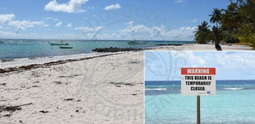 The desolate Worthing Beach was once a favorite for tourists and locals alike but ongoing sewage woes on the south coast has forced its closure in recent months. This afternoon, business operators told Barbados TODAY that they are anxious for the Christ Church beach to reopen to recapture lost business.
