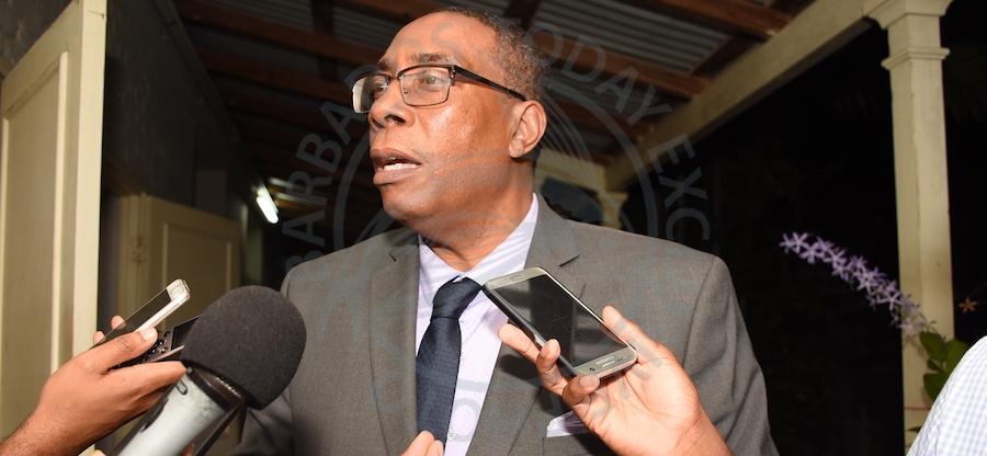 King: statement misconstrued