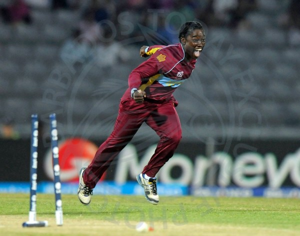 Deandra Dottin's five wickets helped the Windies Women to snatch an unlikely victory.