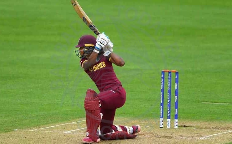 Vice-captain Hayley Matthews batted and bowled the West Indies into the World Cup semifinal tonight.
