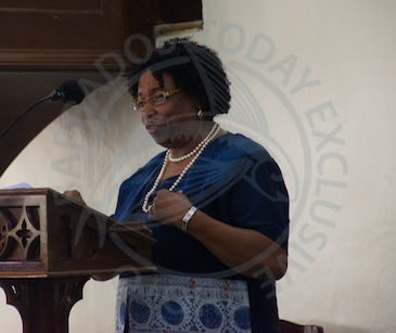 Director of the Barbados Child Care Board Joan Crawford.