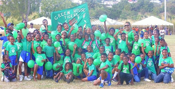 Green House are the new champions of Eden Lodge Primary annual inter-house Sports for the first time in 12 years. (Pictures by Morissa Lindsay).