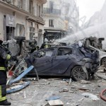 Paris 'gas explosion' kills three in city centre