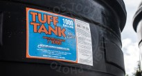 The area on this Tuff Tank to show that it was inspected is vacant.